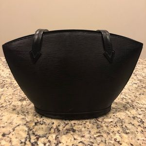 Louis Vuitton Epi Leather St. Jacques Black Bag